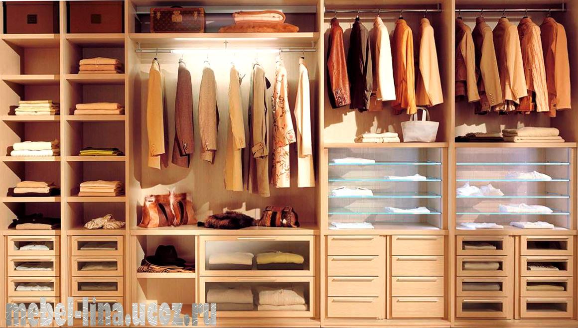 Внутреннее наполнение для шкафов купе. фото, рекомендации, п.